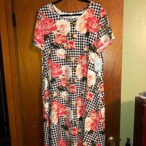 NWT - Lularoe Jessie T-shirt dress